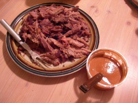 Pulled Pork and Sauce